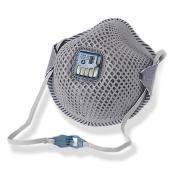 Prochoice Pc823 P2 Disposable Valved Mesh Active Carbon Filter Respirator Box 12