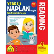 School Zone Yr 5 Naplan-style Reading Wb & Tests