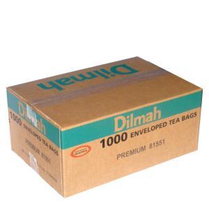 Dilmah Black Enveloped Tea Bags Carton 1000