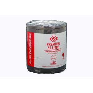 Austar Bin Liners Premium 55 Litre Roll Carton 250