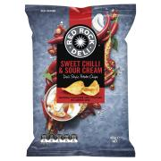 Red Rock Deli Chips Sweet Chilli & Sour Cream 165g
