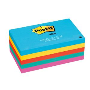 Post-It Super Sticky Notes Jaipur Collection 76 x 127mm Pack 5