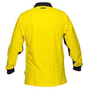 Prime Mover Ww619 100 Cotton High Visibility Polo Shirt