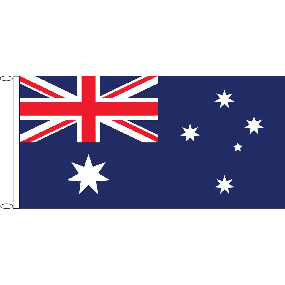 Australian National Flag Knitted Polyester 1375x685mm