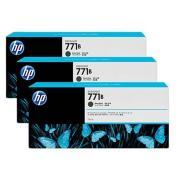HP 771B B6Y23A Ink Cartridge Matte Black 3-Pack