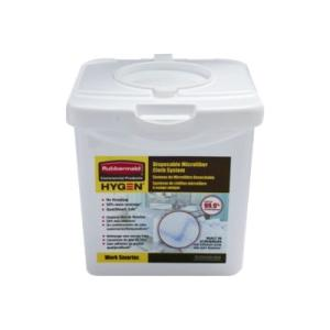 Rubbermaid R1822351 Disposable Microfiber Cloth Charging Tub