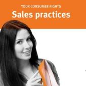 Your Consumer Rights Sales practices each