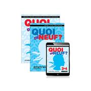 Quoi De Neuf 3+4 Student Book Ebook And Activity Book 2nd Edition Comley Judy Et Al