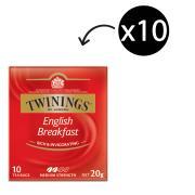 Twinings English Breakfast Tea Bags Pack 10