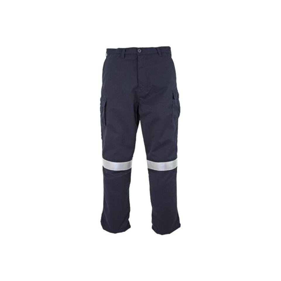 Elliotts Tecasafe Fr/ARC Flash Navy Trousers Hrc2 238gsm 102R