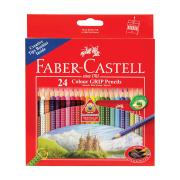Faber-Castell Triangular Coloured Pencils Pack 24
