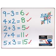Whiteboard Double Sided Non Magnetic 400X300Mm