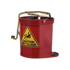 Oatesclean Unlabelled 15L Mop Bucket Red