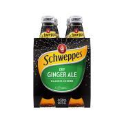 Schweppes Dry Ginger Ale 300ml Bottle Pack 4