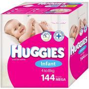42285 Nappy Huggies Infant Girl Carton 144