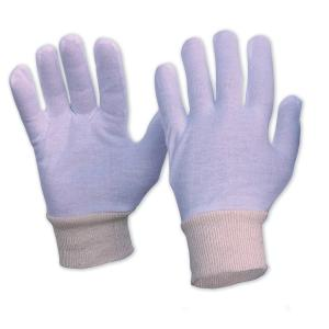 Pro Choice 342Clkwl Interlock Poly/Cotton Liner With Knitted Wrist Gloves- Ladies Pair