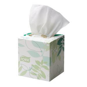 Tork 2170301 Extra Soft Facial Tissue Cube 2 Ply 90 Sheets Ctn 24