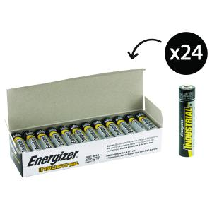 Energizer Industrial EN91 1.5V Alkaline AA Battery Pack 24