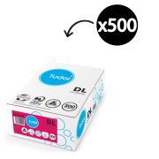 Tudor 140079 Envelope Secure DL Peel-N-Seal White 110 x 220mm Box 500
