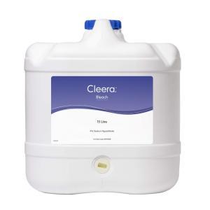 Cleera Bleach 4% Hypochlorite 15L