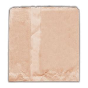 Castaway Paper Bags No. 2 Square Cake 200X200mm Brown Pack 500