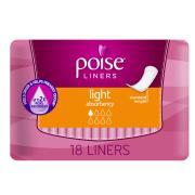 Poise 1673 Light Liner 8 Pack Of 18