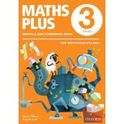 Maths Plus NSW Aus Curriculum Ed Mentals & Homework Book 3 Revised Ed 2016