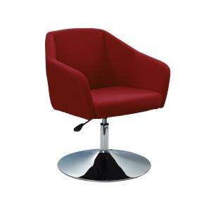 Mondo Alto Chair With Pedestal Base Red