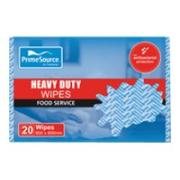 Cast H/Duty Wipes 60X60cm Blue Pk20