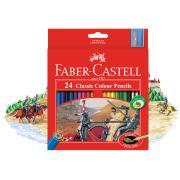 Faber Castell Pencil Classic Colour Pack 24