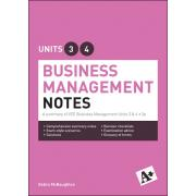 A+ Business Management Notes Vce Units 3 & 4 Student Book