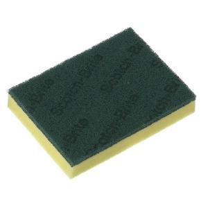 3m Sponge Scourer Medium Duty 150X115X32mm Green 230S