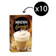 Nescafe Cafe Menu Caramel Coffee Sticks 17g Box of 10