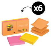 Post-it  R330-6SSUC Super Sticky Rio de Janeiro Pop-up Notes 76 x 76mm 6 Pads