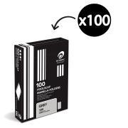 Olympic Manilla Folder Foolscap Grey Box 100