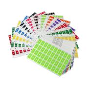 Codafile 162577 Alpha 25mm Mini Set 1 Sheet of Each A-Z Sheet of 40 labels