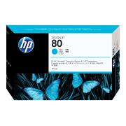 HP DesignJet 80 Cyan Ink Cartridge - C4872A