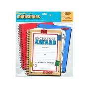 Spiral Notebook Certificate Award Kit