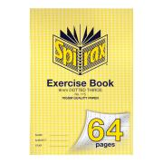 Spirax 115 Exercise Book A4 64 Pages 9mm Dotted Thirds