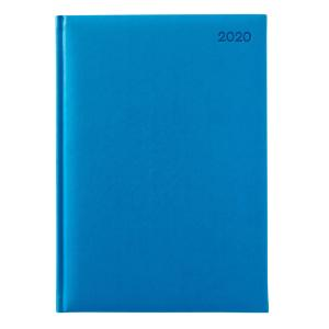 Winc Soft Touch 2020 Hard Cover Diary A4 Week to View Blue