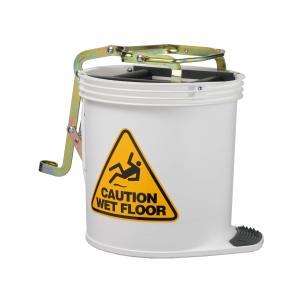 Oates Clean Unlabelled 15L Mop Bucket White