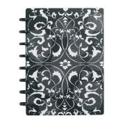M By Staples ARC Poly Notebook A5 Flower Circle