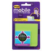 Post-It Pm-Fan1 Full Adhesive Notepad Green and Blue Pack of 3