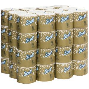 Scott 5741 Toilet Tissue White 400 Sheets/Roll Carton 48
