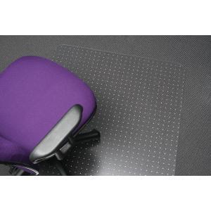 Marbig Chairmat 100% Recyclable Polycarbonate All Pile Carpet 1200l x 900wmm Matt