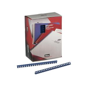 GBC Ibico Binding 19mm 21 Ring Coils Blue Box 100