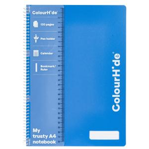 Colourhide My Trusty Notebook A4 120Pg Blue