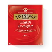 Twinings English Breakfast Tea Bags Pack 100