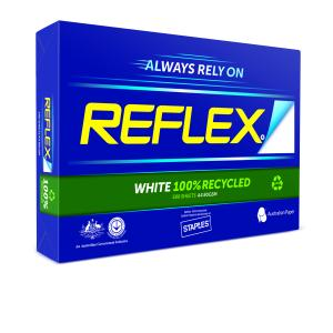 Reflex Carbon Neutral 100% Recycled A4 Copy Paper 80gsm White Ream