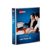 Avery Side Tab Colour Coding Label Kit for Lateral Filing - 25 x 38mm - Assorted - Labels